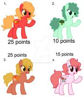 Adopt Ponies for points 1 by meg15warrior