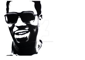 Kid Cudi by JoeMallenderArt