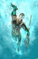 Aquaman by timothylaskey