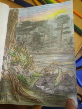 Rapieron on Mission [Traditional] by Dragonsfriend90