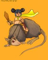:collab_Rat Warrior s vitory: by d-clua