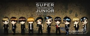 Super Junior Bonamana by dikae19