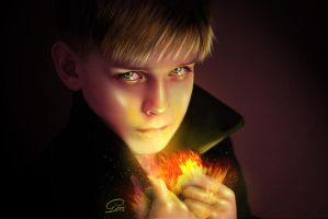 Burning Boy by GORI89
