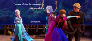 free elsa and queen elsa by meowxiaoshou