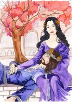 Elessar and Evenstar by cathy-chan