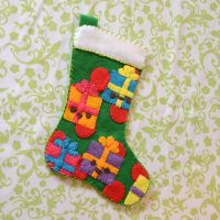 Tutorial: Felt Applique Stocking by marywinkler