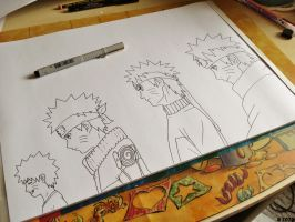 ~ WIP - Evolution Of Naruto Uzumaki ~ by JoJoAsakura