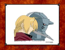 Full Metal Alchemist Brothers2 by Andy721