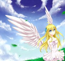 .:Angel Girl:. by Rorita-Sakura