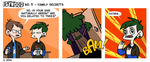 ISYWOODSTRIP No. 3 - Family Secrets by isywood