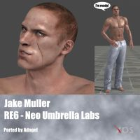 Jake Muller RE6 Neo Umbrella Labs Outfit by Adngel