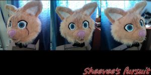 feline fursuit head auction FINISH TODAY by eevee6969