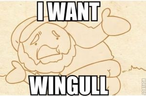 I WANT WINGULL by MRBUCKETGUY