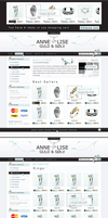 jewellery web shop by outlines by webgraphix