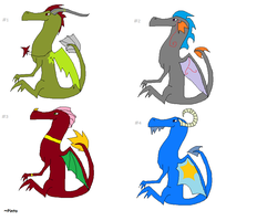 Dragon Adopts OPEN by PintoFire