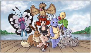 First Summer - Team Photo by Krisantyne