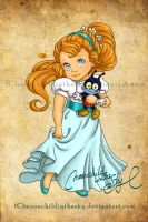 Child Thumbelina by MoonchildinTheSky