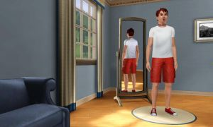 Sims 3 Grif the Belly Goat as a human by Beast72