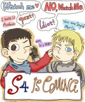 Merlin S4 is Coming by FoxChristy