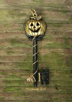 Jack O Lantern Key by MythicalFolk