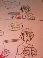 Pewdiepie Comic 03: very very happy wheels by kyoukosaku