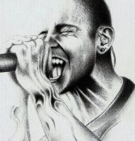 Chester Bennington by Kyrank