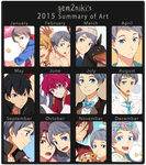 2015 Summary of Art by gem2niki