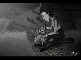 Frankenweenie - Love is strange by hevirolli