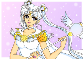 Sailor Cosmos by Sailor-Serenity