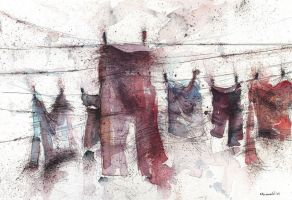 Clothes line2 by MarinaVeselinovic