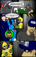 Five Fucks At Freddy's  - Page 1 - Censored by TheGeckoNinja