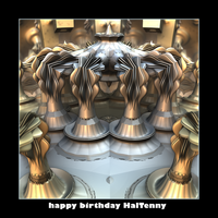 happy birthday HalTenny by fraterchaos