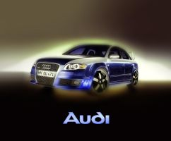 Audi RS4 by taytel