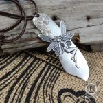 Fairy and Flowers Knife Pendant by Doctor-Gus