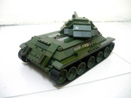 T-34 Russian WWII Medium Tank 7 by SOS101