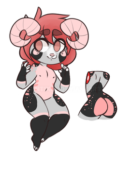Dog adoptable (?) CLOSED by 8bit-Adopts