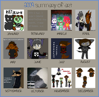 Art Summary - '09 DUN DUN DUN by Evil-Hamster-O-Doom