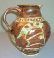 Greek helm pitcher by cl2007