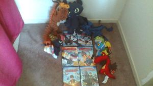 ALL MY MERCHANDISE FOR HOW TO TRAIN YOUR DRAGON by PokeLoveroftheWorld
