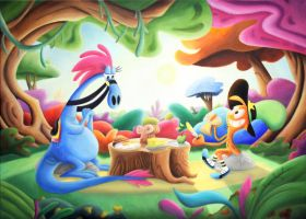 The Last Breakfast Wander Over Yonder Oil Painting by Star-Butterfly