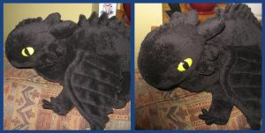 Toothless Plush by Jeromerocks37