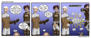 FFXIV Comic: Blast from the Pass by bchart