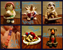Gift Art: Christmas Clay by TehPickle