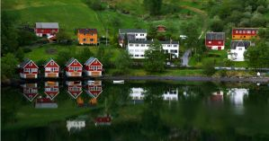 Reflections Skjolden09 by abelamario