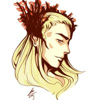 thranduil's fabulous inkness - revamp by shadoefax