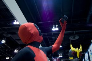 Throwback Thursday: Deadpool Selfie! by Typical-Mental