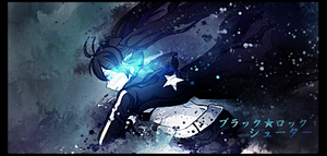 Black Rock Shooter Sign by Roberto-Miak