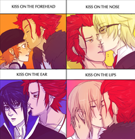 K-Project Kissing Meme by Ansemaru