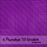 Line brushes for Photoshop 7.0 by Chelique