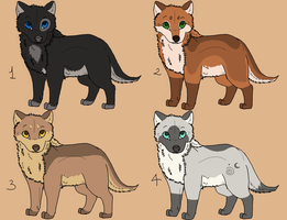 FREE puppies adopts - CLOSED by runningfreely